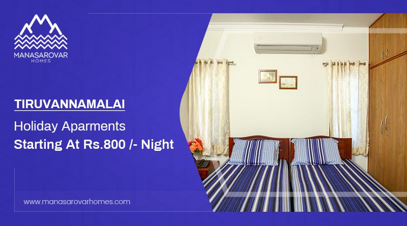 TIRUVANNAMALAI HOLIDAY APARTMENTS STARTING AT RS.800 - NIGHT